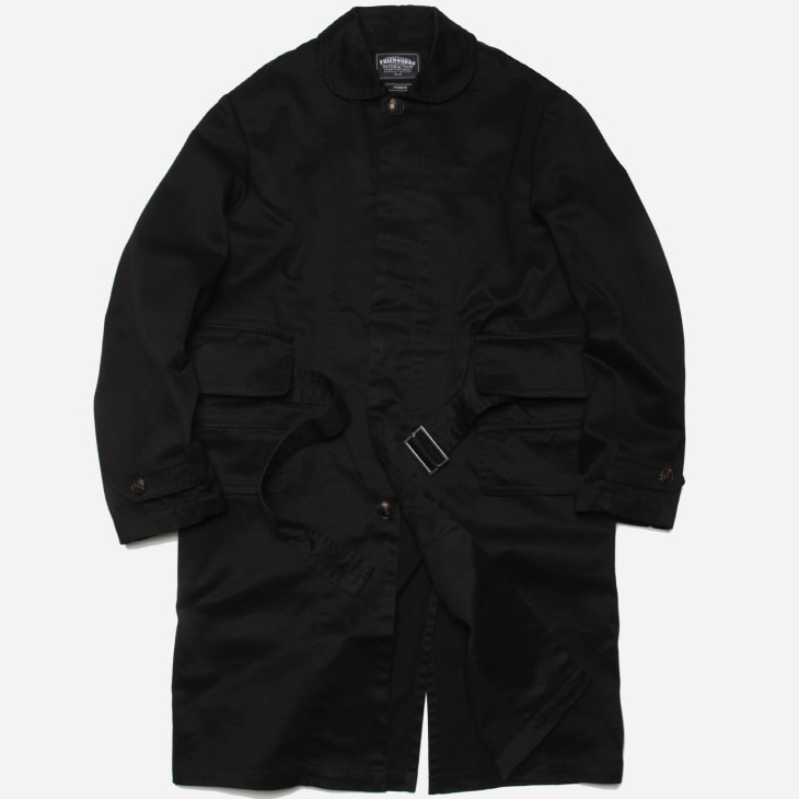[프리즘웍스]Belted single coat _ black