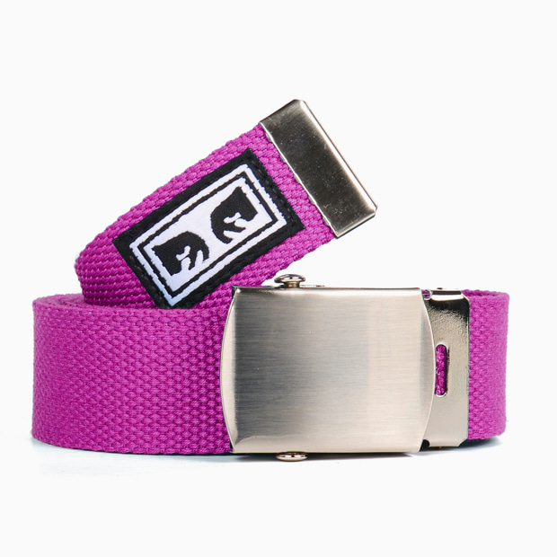 [오베이]BIG BOY WEB BELT MAGENTA 벨트
