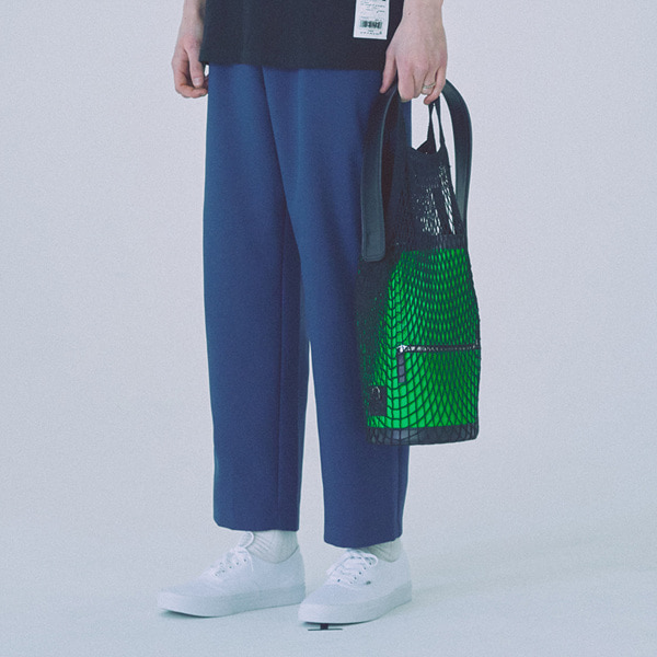 [우조]18 SS 25 wide banding pants (mint blue)