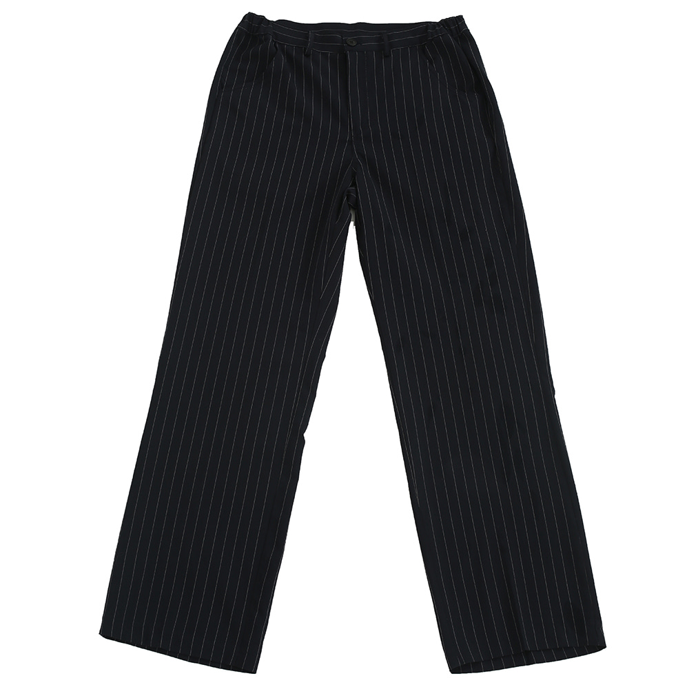 [뉴트럴] Navy striped trousers