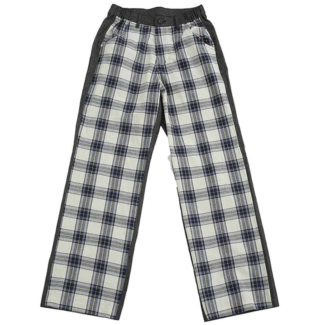 [뉴트럴] Gray patterned pants