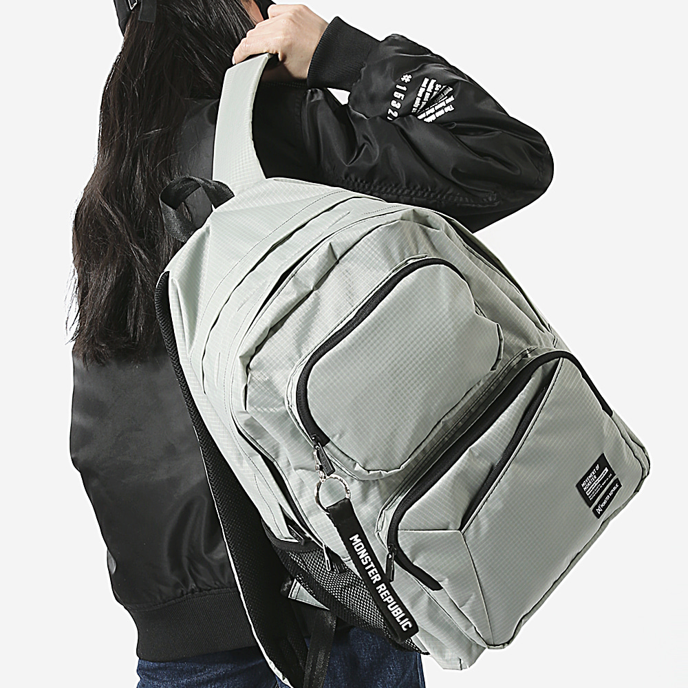 [몬스터 리퍼블릭] COMMA GRAM DAYPACK / L.GRAY