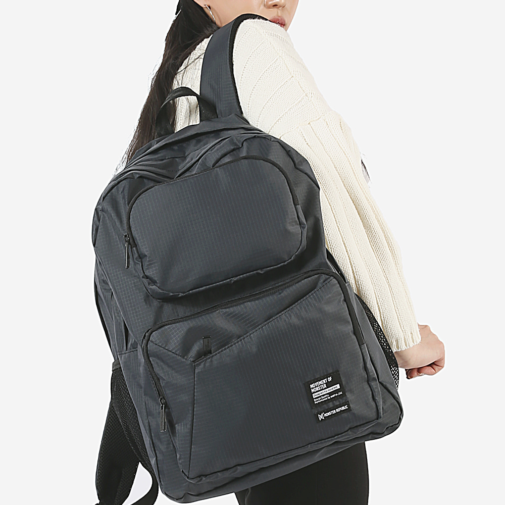[몬스터 리퍼블릭] COMMA GRAM DAYPACK / D.GRAY