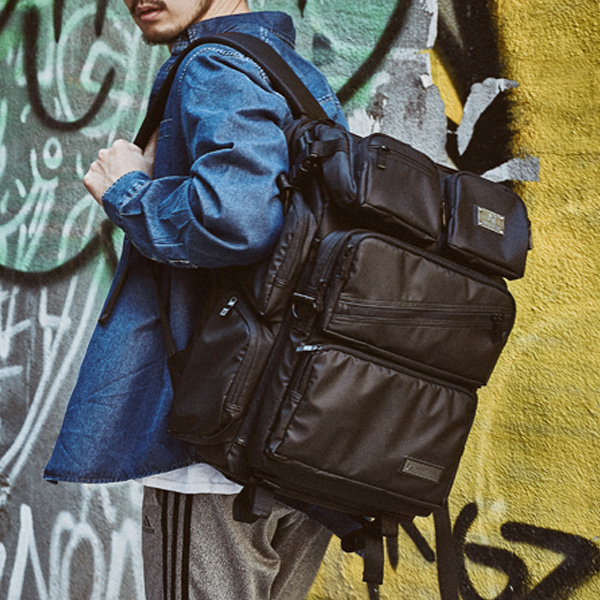 [몬스터 리퍼블릭] DIMENSION REWIND BACKPACK / MATT BLACK