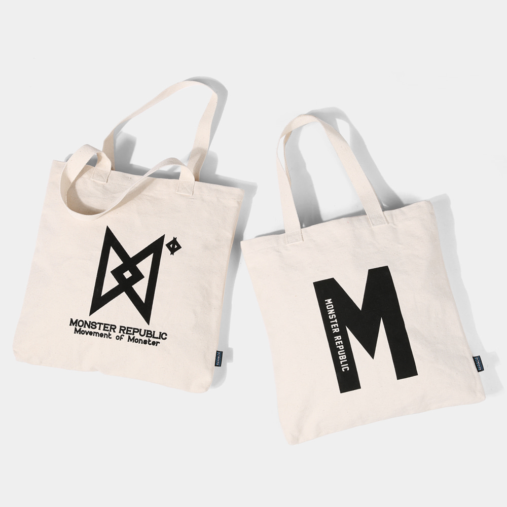 [몬스터 리퍼블릭] INITIAL ECO BAG SERIES