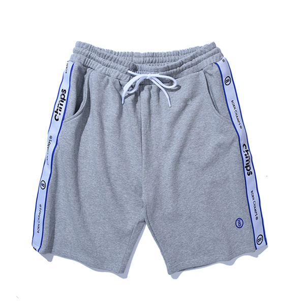 [본챔스]TAPE SHORTS PANTS CERBMTP01GY
