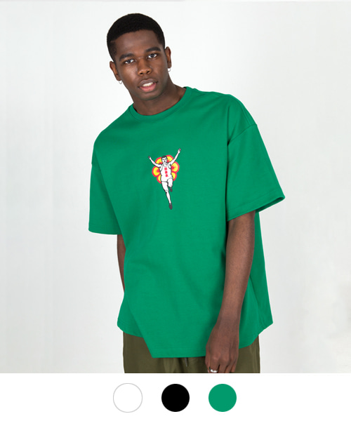 [윅스눕] Glico man T-SHIRT (3color)