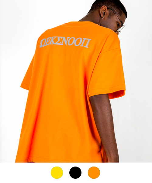 [윅스눕] mo3r Scotch logo T-SHIRT (3color)