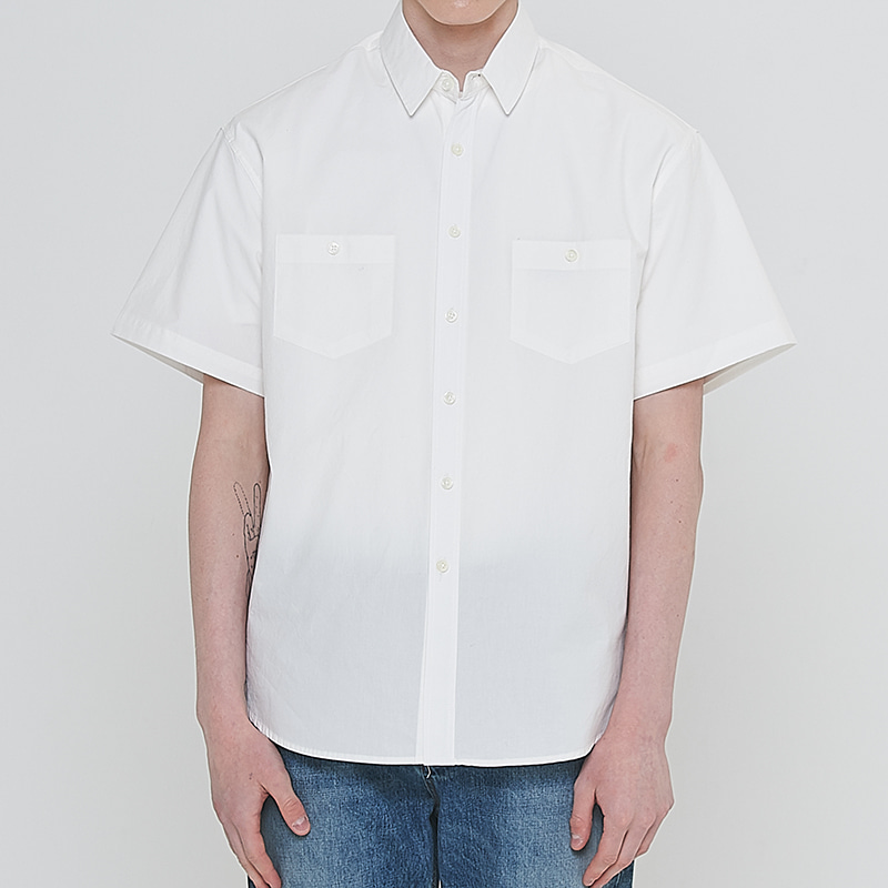 [엘리오티] Ellioti Tunic shirts_White