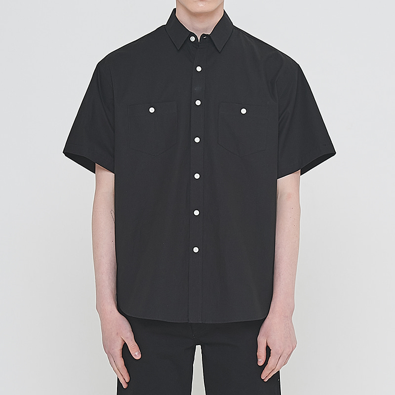 [엘리오티] Ellioti Tunic shirts_Black