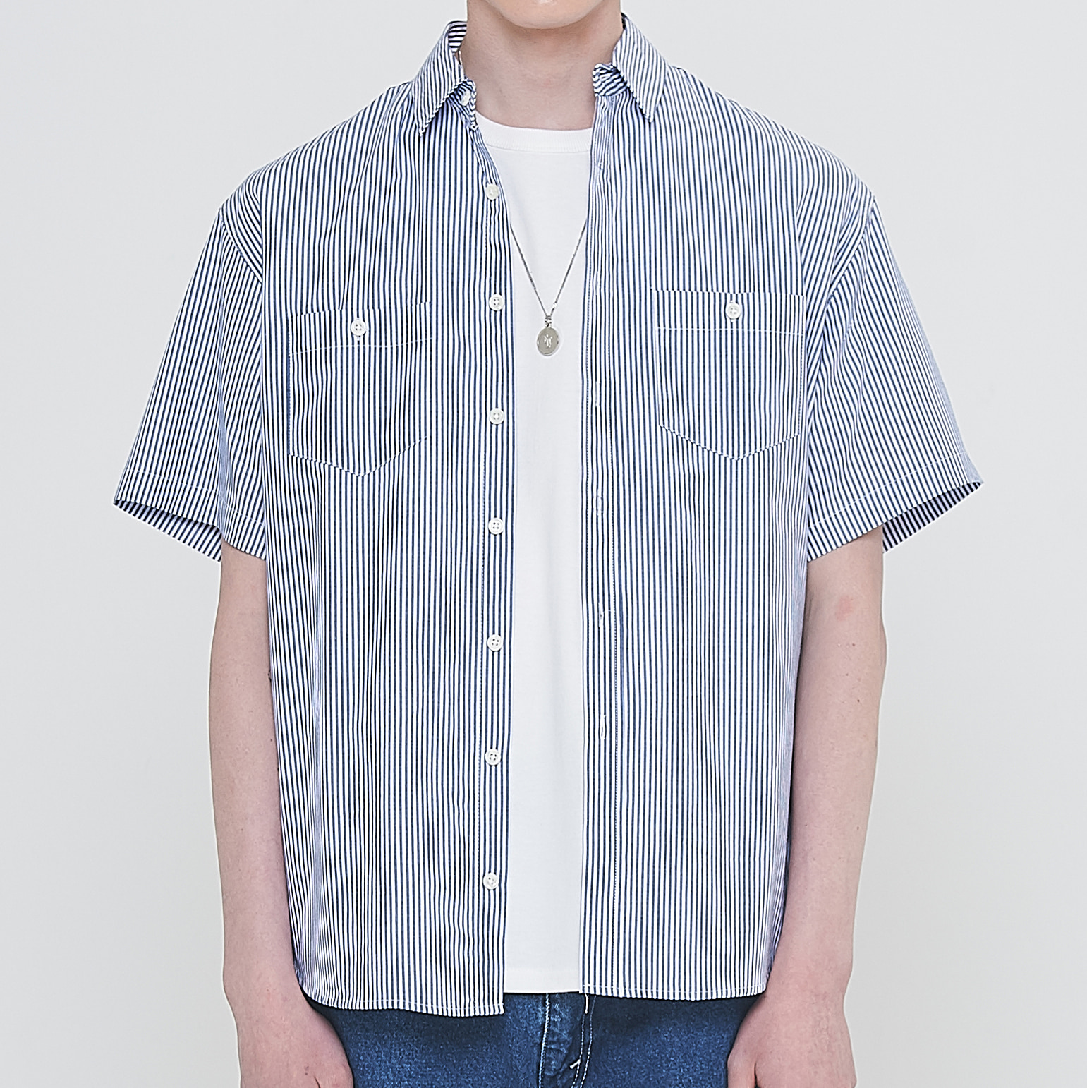 [엘리오티] Ellioti Tunic shirts_Stripe