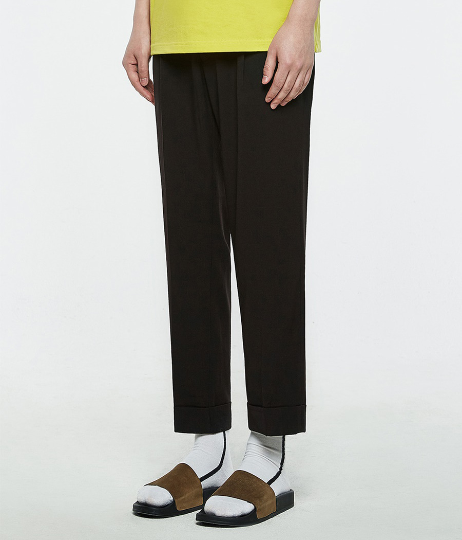 [오엑스스튜디오]Relaxed Trousers (Black)