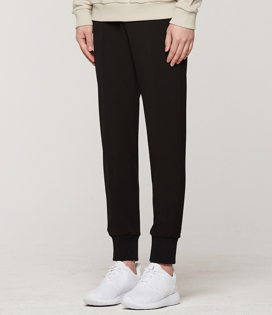 [오엑스스튜디오]Banding Jogger Slacks (Black)