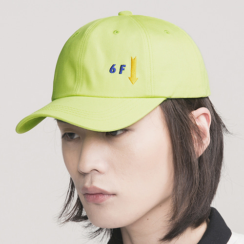 [콰이어티스트]Floor 6-pannel Ball Cap green