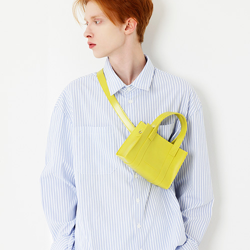 [피스메이커]LEATHER 3WAY MINI BAG (SPRING YELLOW)