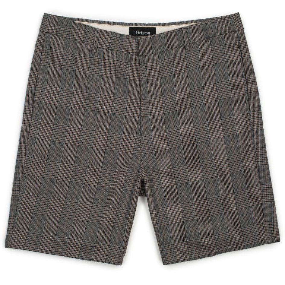 [브릭스톤]GRADUATE SLACK SHORT  GREY PLAID