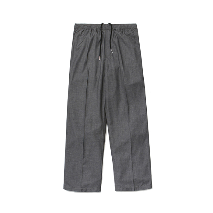 [라퍼지스토어](Unisex) Air Cooling Wide Slacks_Gray