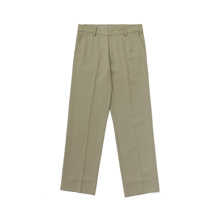 [라퍼지스토어]Frais Long Wide Slacks_Khaki Beige
