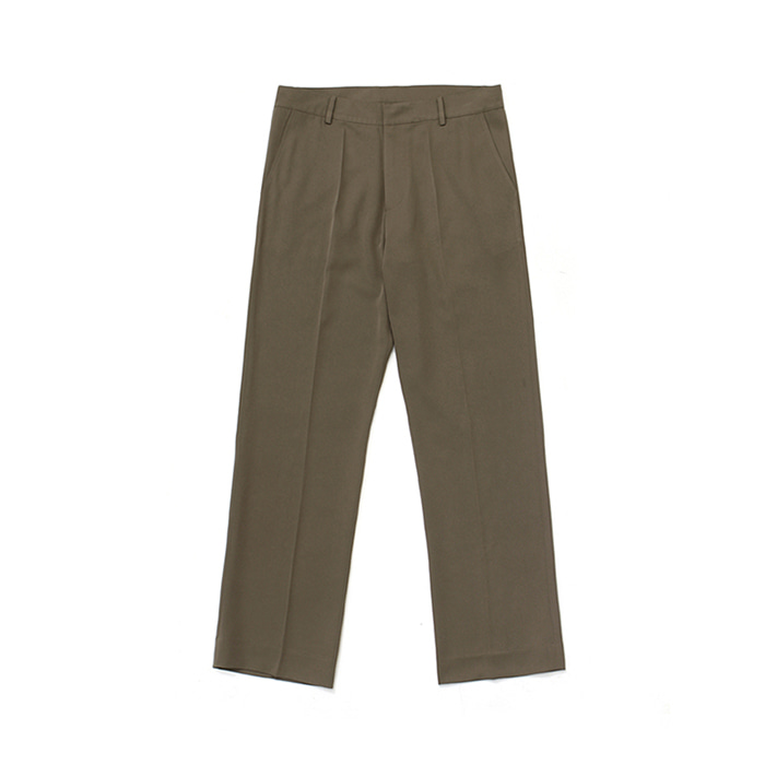 [라퍼지스토어]Frais Long Wide Slacks_Cocoa