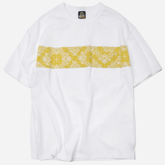 [프리즘웍스]Paisley pocket tee _ yellow