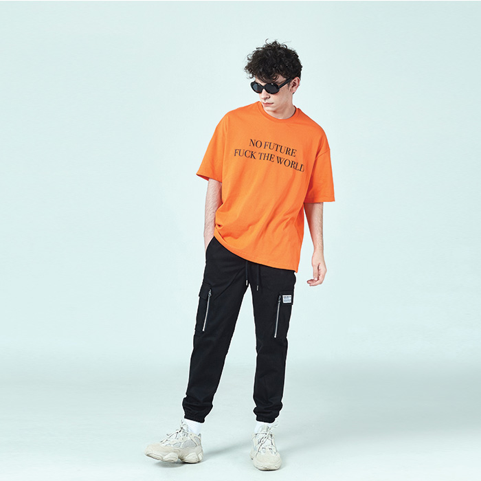 [데드엔드] ORANGE NO FUTURE T-SHIRTS