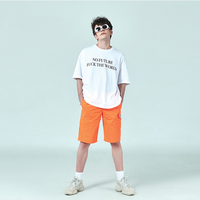 [데드엔드] WHITE NO FUTURE T-SHIRTS