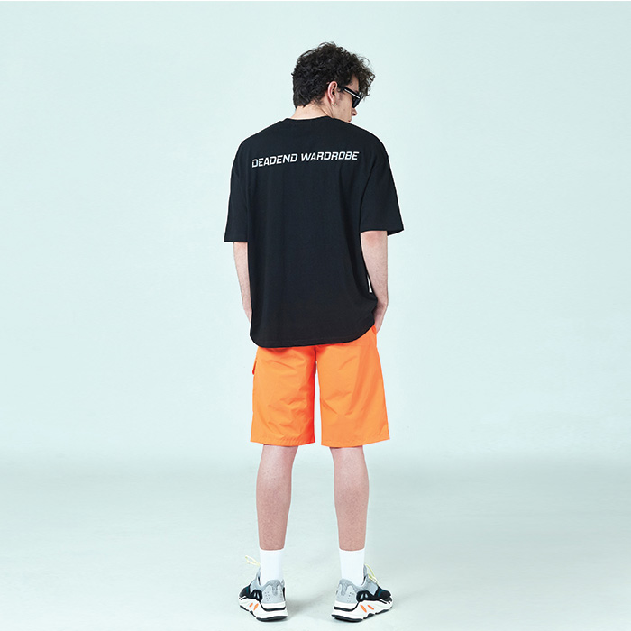 [데드엔드] BLACK REFLECTIVE T-SHIRTS