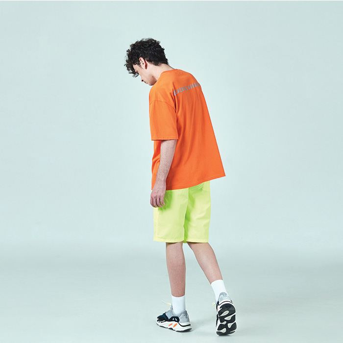 [데드엔드] ORANGE REFLECTIVE T-SHIRTS