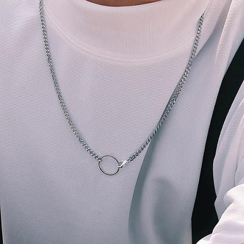 [하와] CIRCLE JOIN NECKLACE