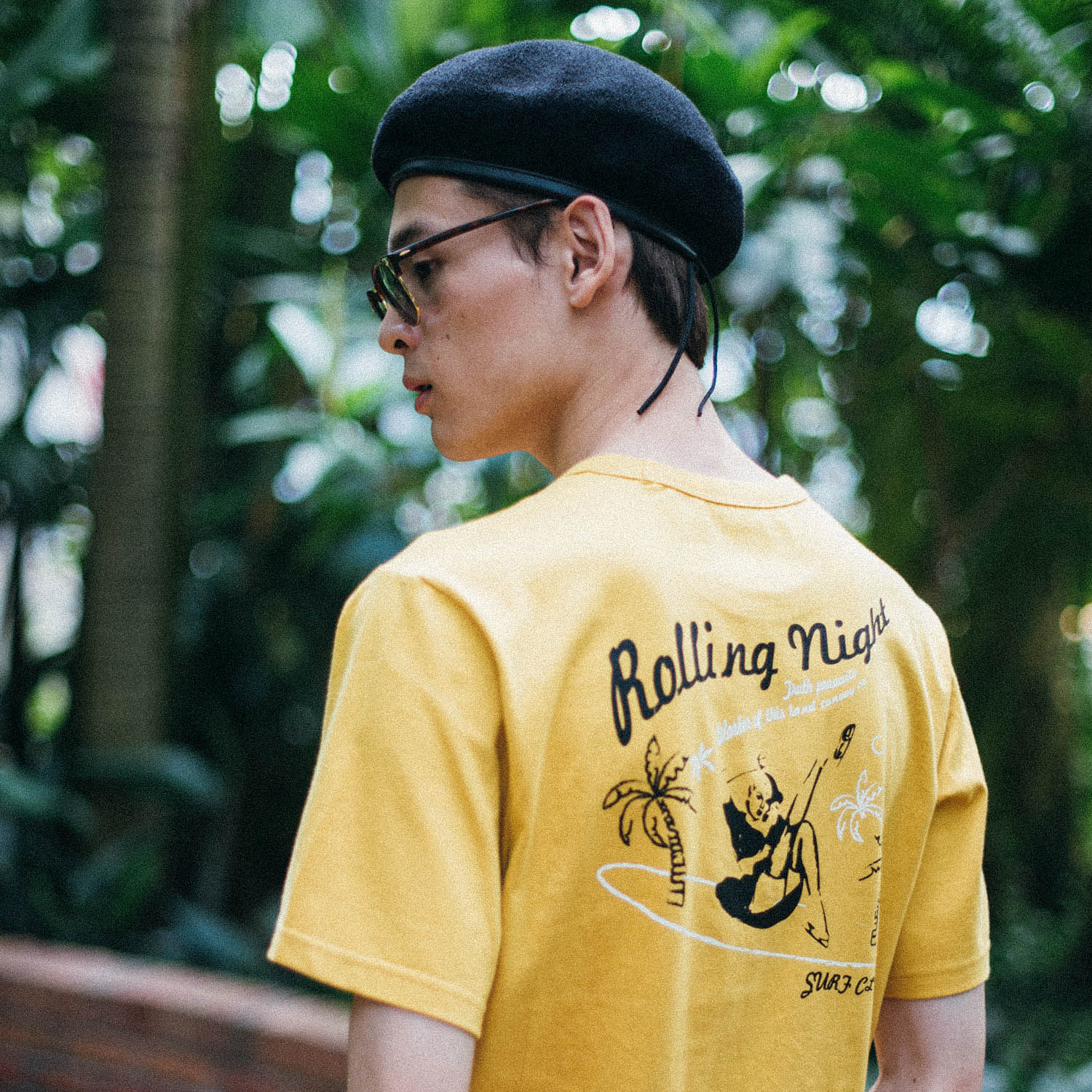 [콘보이] SURF Club 1/2 tee yellow