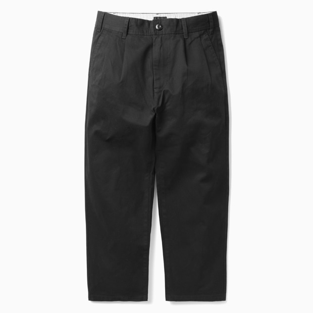 [오베이]FUBAR BIG FITS PANT - BLACK 바지