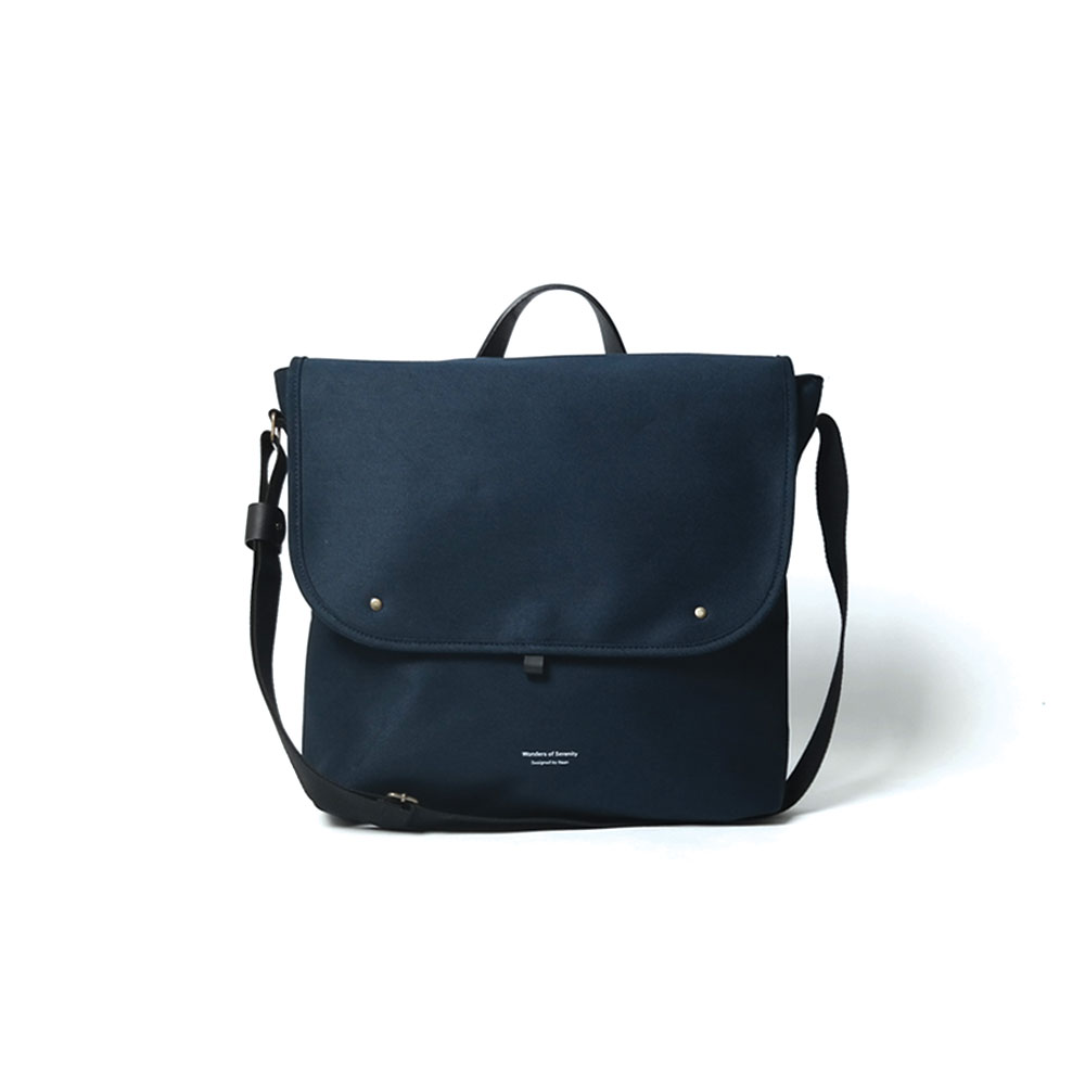 [반 브라운]902 Crossbag Navy