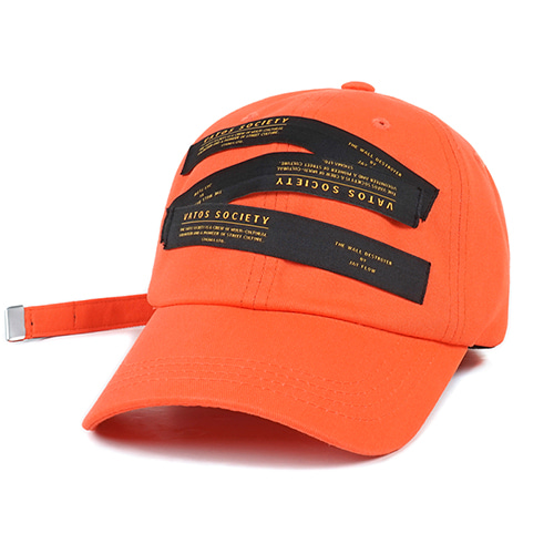 [스티그마]STIGMA LABEL BASEBALL CAP ORANGE