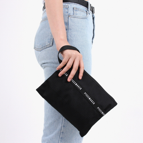 [피스메이커]REPLAY POUCH L (BLACK)