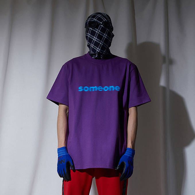[노매뉴얼]ANONIMITY T-SHIRT - PURPLE