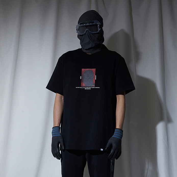 [노매뉴얼]NEW ORDER T-SHIRT - BLACK