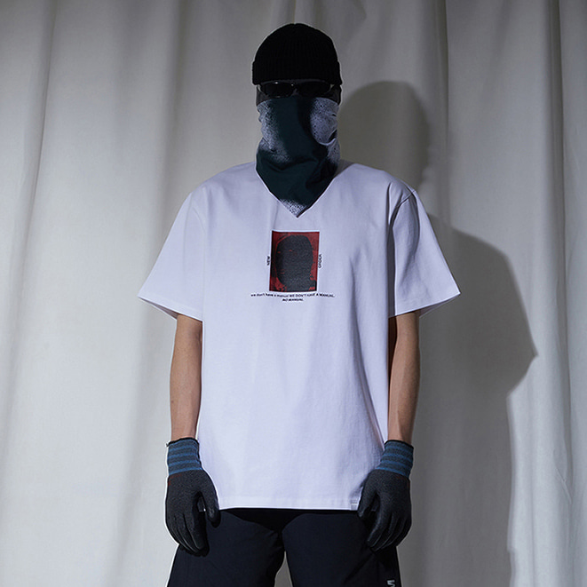 [노매뉴얼]NEW ORDER T-SHIRT - WHITE