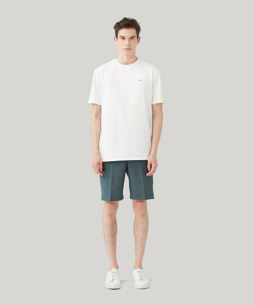 [모노소잉]COMFORT WOOL SHORTS_(BASIL GREEN)