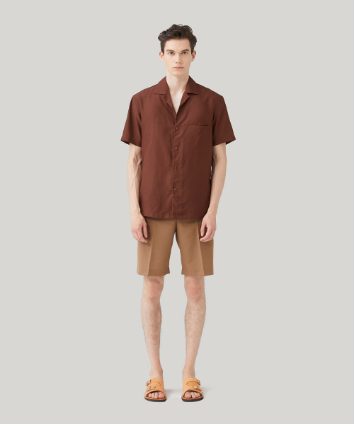 [모노소잉]COMFORT WOOL SHORTS_(BEIGE)