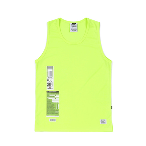 [스티그마]STIGMA IMMIGRATION COOLON SLEEVELESS NEON GREEN