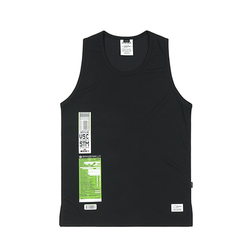 [스티그마]STIGMA IMMIGRATION COOLON SLEEVELESS BLACK