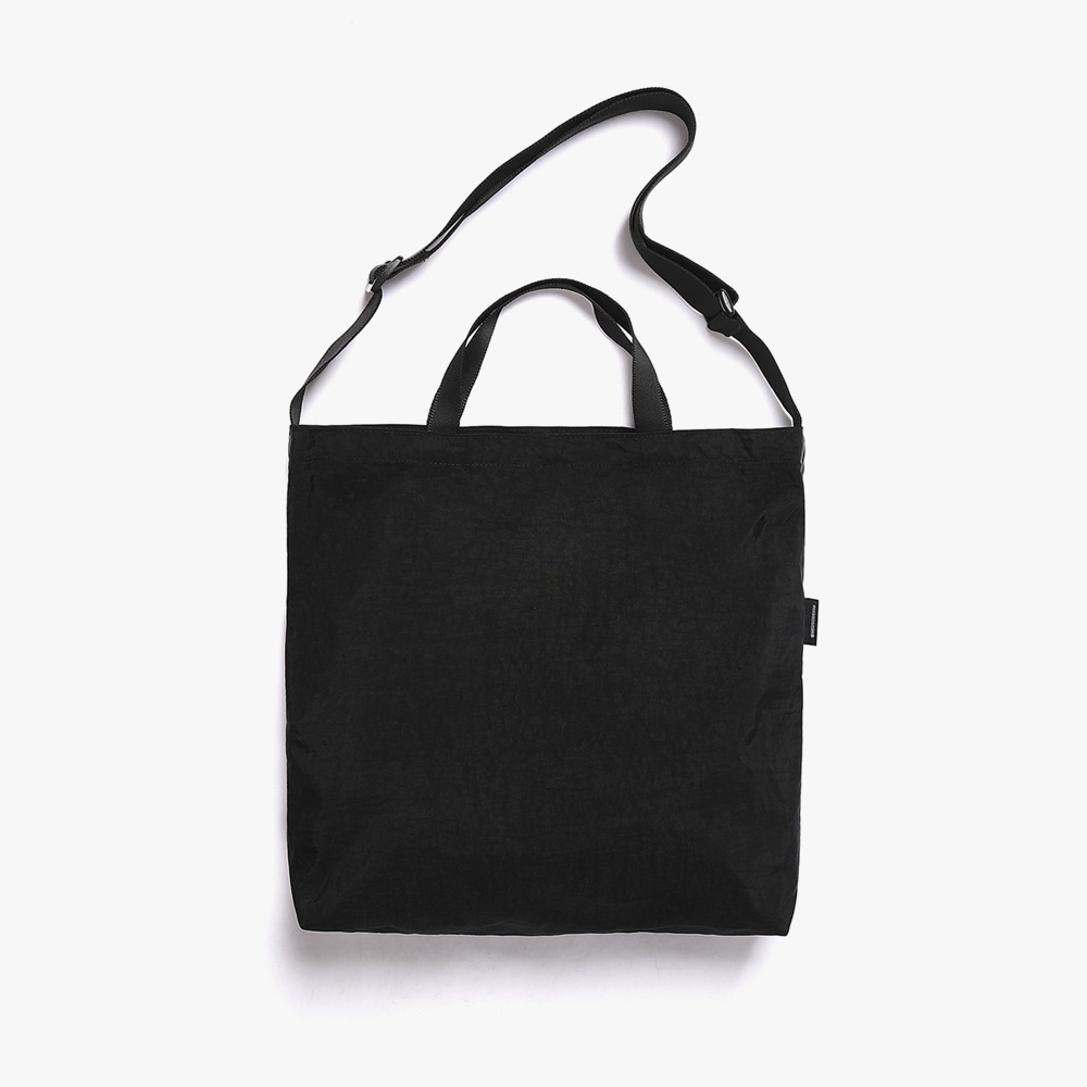 [피스메이커]SHIRRING NYLON 3WAY BAG (BLACK)