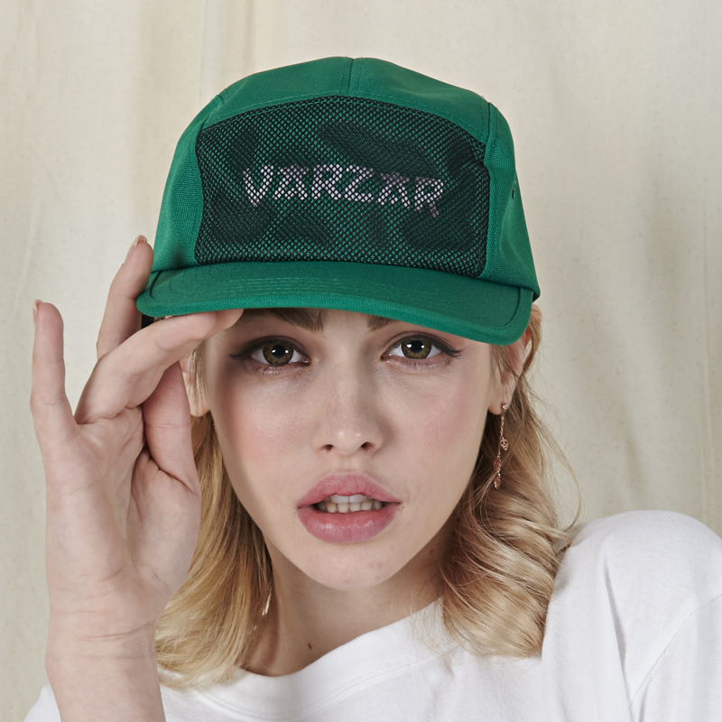[바잘]   Varzar reflecting camp cap green