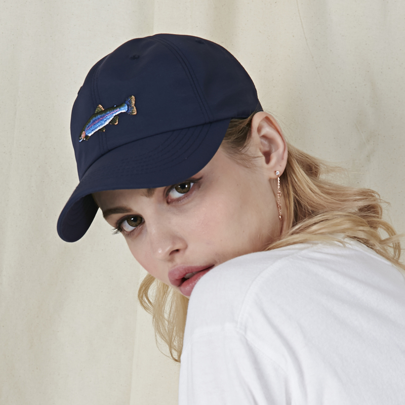 [바잘]   Trout ballcap navy