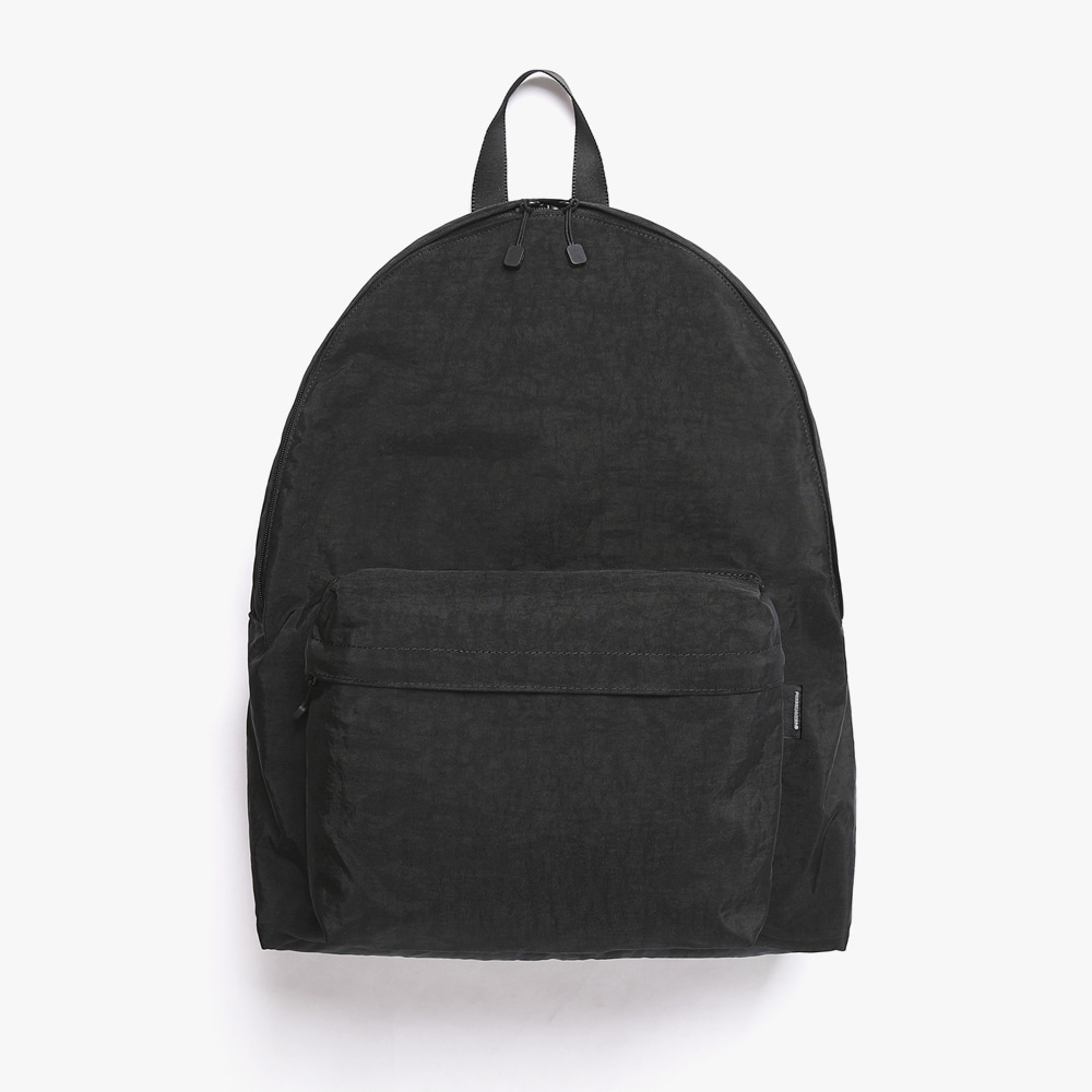 [피스메이커]SHIRRING NYLON BACKPACK (BLACK)