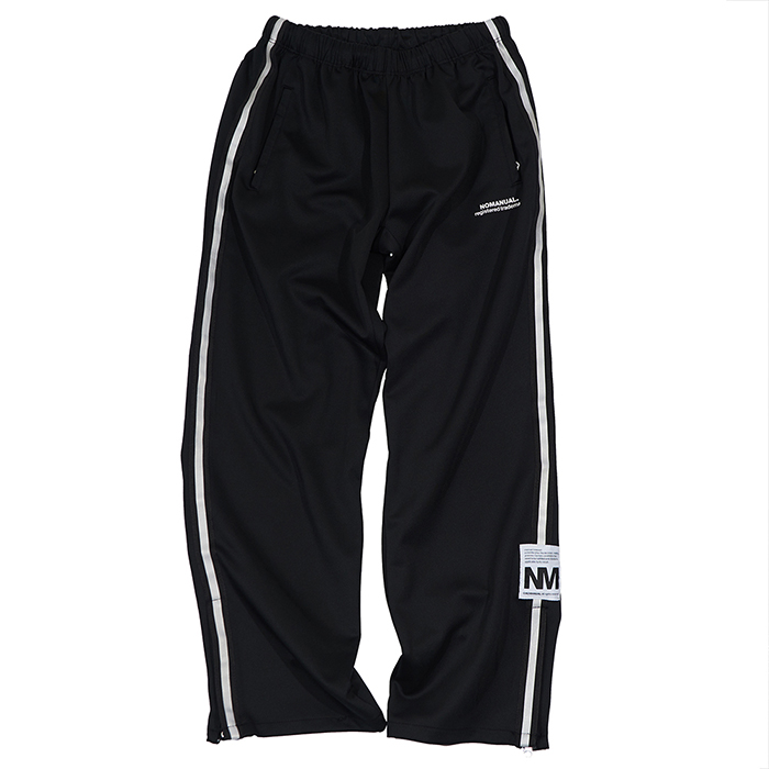 [노매뉴얼]NM EMBLEM JERSEY TRAINING PANTS - BLACK 한정수량 세일