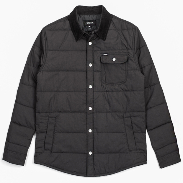 [브릭스톤]CASS JACKET - BLACK/BLACK