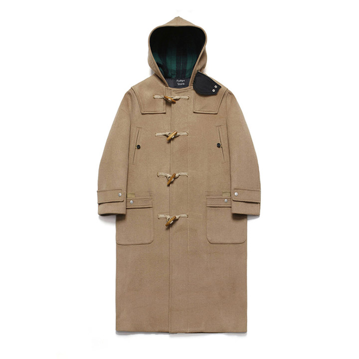 [라퍼지스토어]Wool Over Long Duffle Coat_Rich Beige