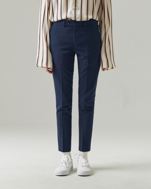 ROMANTIC SLACKS NAVY