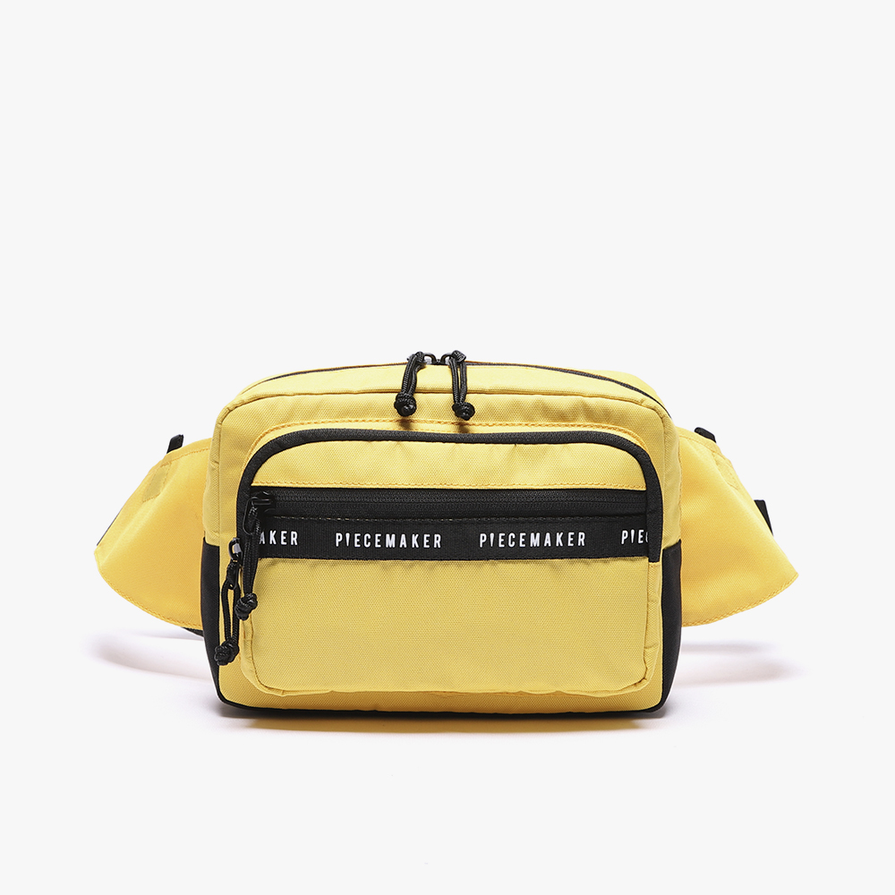 [피스메이커]REPLAY WAIST BAG (YELLOW)